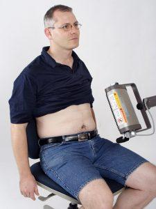 使用時照射部位須裸露,才能被人體吸收,到達深層組織。