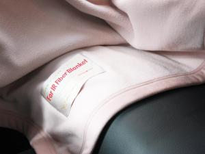 寬譜遠紅外線健康毯 細節