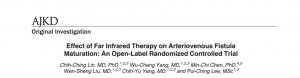 FIR療法對自體動靜脈瘻管養成的影響:一個開放性、隨機控制的臨床試驗