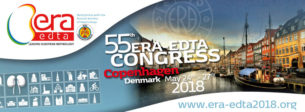 2018 ERA-EDTA in Copenhagen